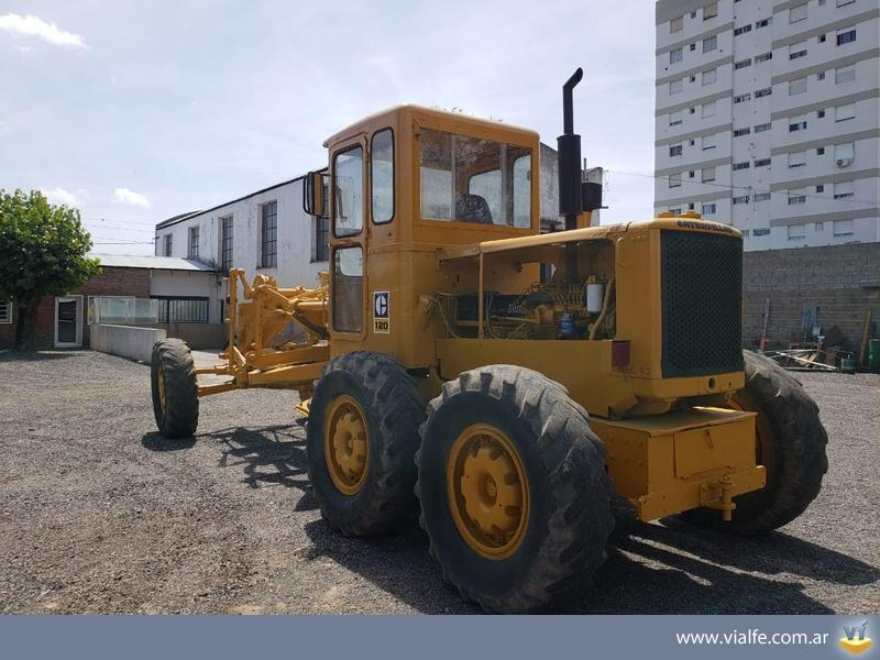 Motoniveladoras Caterpillar 120